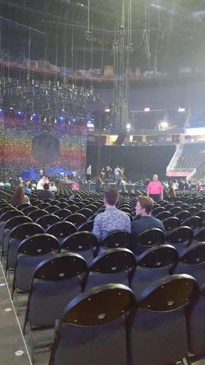 T-Mobile Arena secção Floor J