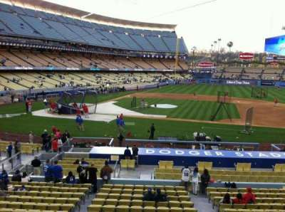 Dodger Stadium secção 132LG