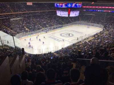 Madison Square Garden, secção: 220, fila: 13, lugar: 21