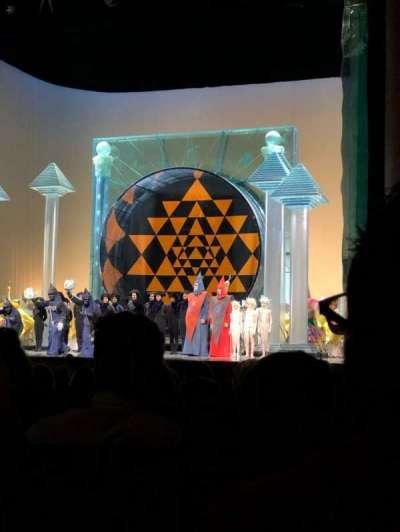 Metropolitan Opera House - Lincoln Center secção Orchestra