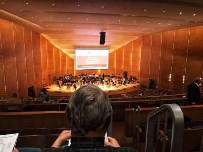 Kleinhans Music Hall, secção: Middle balcony, fila: K, lugar: 19