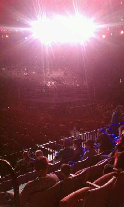Michelob Ultra Arena secção 117