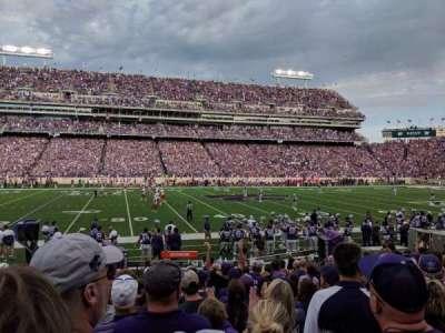 Bill Snyder Family Stadium, secção: 4, fila: 13, lugar: 23