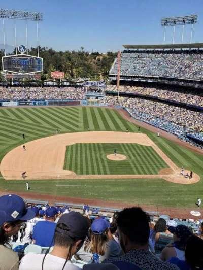 Dodger Stadium secção 15RS