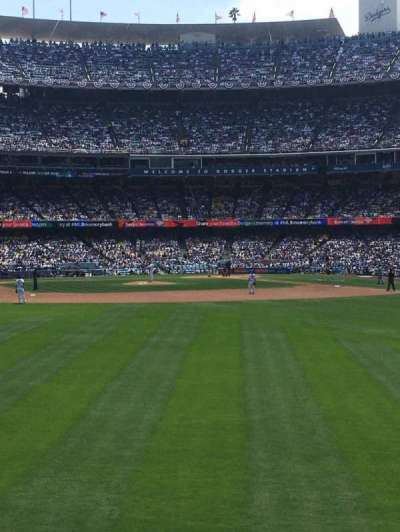 Dodger Stadium secção 307PL