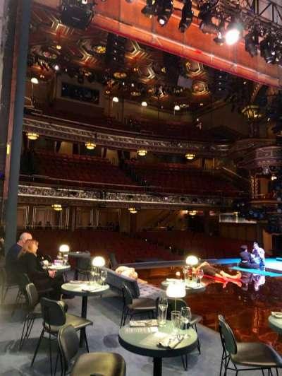 Belasco Theatre secção Stage