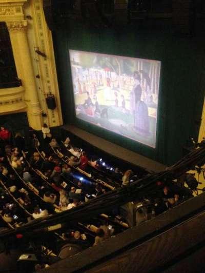 Hudson Theatre secção Balcony R