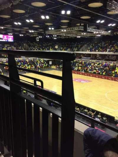Copper Box Arena secção 210