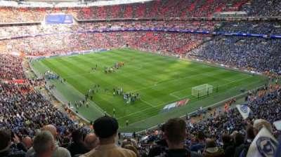 Wembley Stadium secção 544