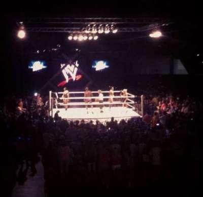 Macon Coliseum, secção: 115, fila: D, lugar: 14