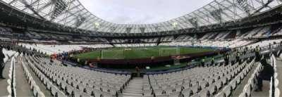 London Stadium secção 119