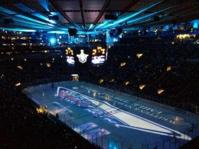 Madison Square Garden secção 417