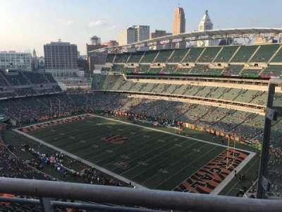 Paul Brown Stadium, secção: 304, fila: 13, lugar: 2