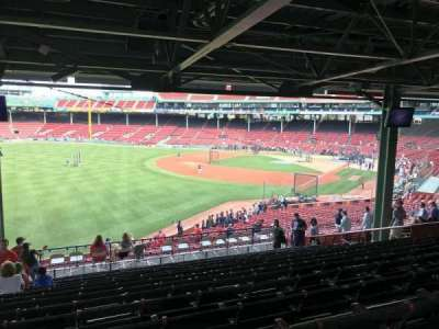 Fenway Park secção Grandstand 31