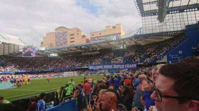 Stamford Bridge secção West Stand Lower