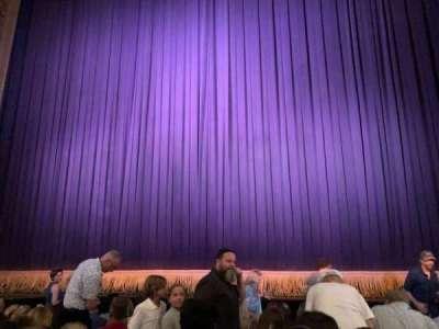 Lyceum Theatre (Broadway) secção Orchestra C