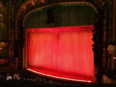 New Amsterdam Theatre, secção: MEZZ, fila: CC, lugar: 14