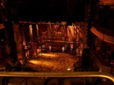 PrivateBank Theatre, secção: Balcony R, fila: A, lugar: 2