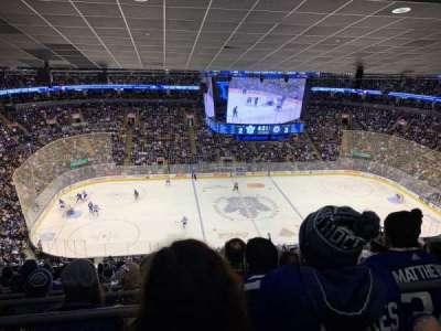 Scotiabank Arena, secção: 322, fila: 16, lugar: 12