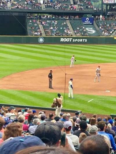 T-Mobile Park, secção: 137, fila: 31, lugar: 10