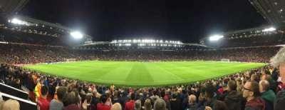 Old Trafford, secção: N1406, fila: 1, lugar: 173