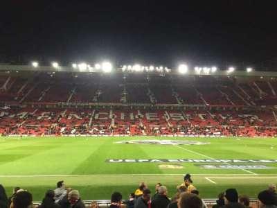Old Trafford, secção: STH124, fila: 2, lugar: 151
