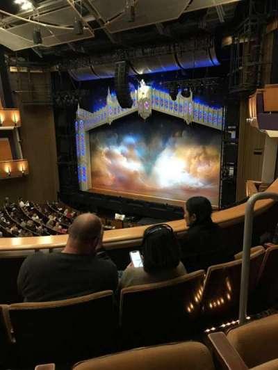 Ahmanson Theatre, secção: Mezzanine, fila: C, lugar: 3