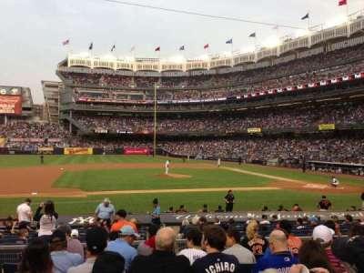 Yankee Stadium secção 124