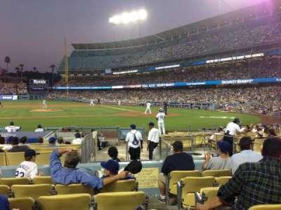 Dodger Stadium secção 17FD