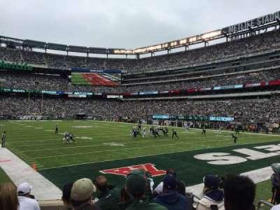 MetLife Stadium, secção: 129, fila: 8, lugar: 16