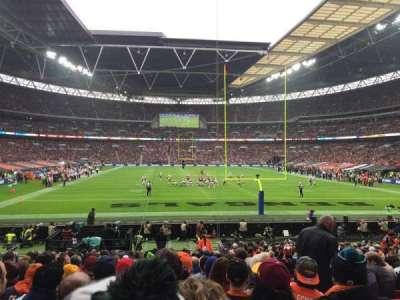 Wembley Stadium, secção: 112, fila: 22, lugar: 19