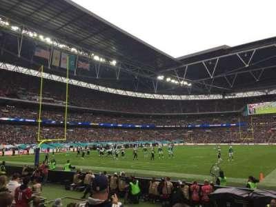 Wembley Stadium, secção: 109, fila: 7, lugar: 207