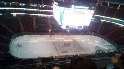 Prudential Center secção 210