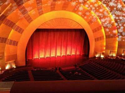 Radio City Music Hall secção 3rd mezzanine 6
