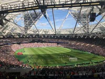 London Stadium secção 218