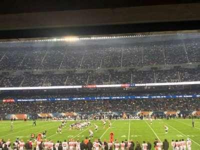 Soldier Field, secção: 108, fila: 16, lugar: 19