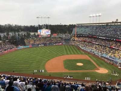 Dodger Stadium secção 17RS