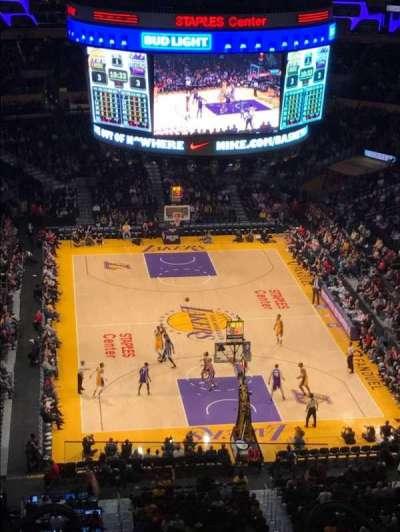 Staples Center secção 310