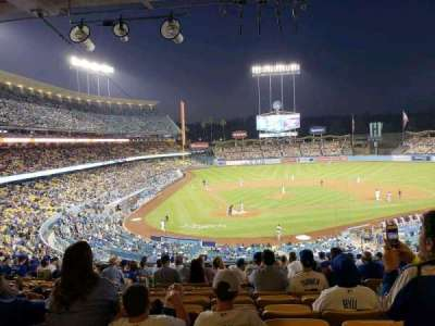 Dodger Stadium secção 116LG