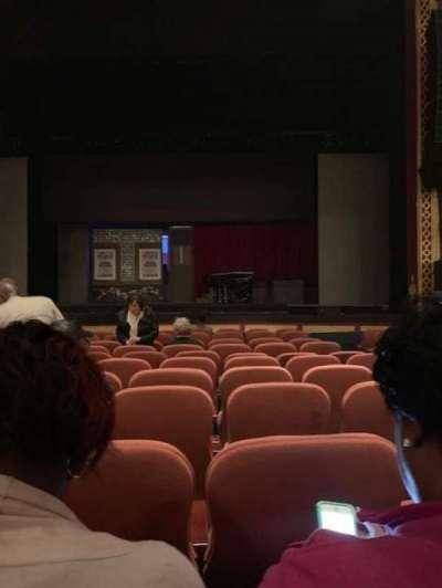 National Theatre (DC) secção ORCHESTRA
