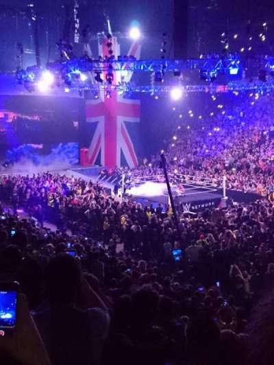 Manchester Arena secção 106