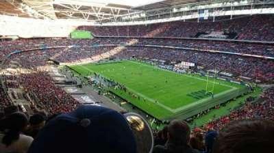 Wembley Stadium, secção: 504, fila: 17, lugar: 95