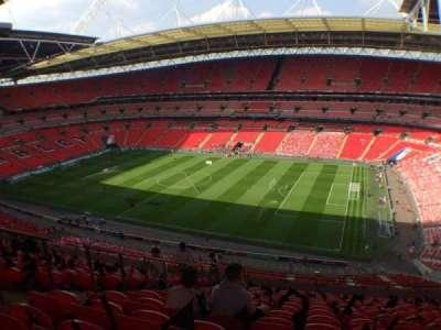 Wembley Stadium, secção: 523, fila: 15, lugar: 280