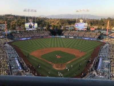 Dodger Stadium secção 1TD
