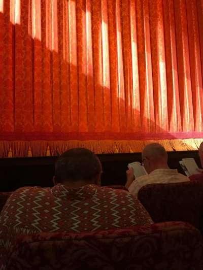 St. James Theatre secção Orchestra
