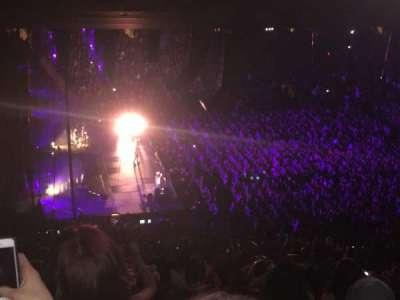 Madison Square Garden, secção: 222, fila: 18, lugar: 4