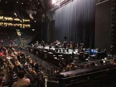 Oakland Arena secção 127