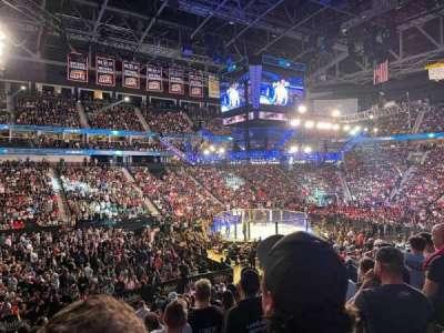VyStar Veterans Memorial Arena, secção: 116, fila: S, lugar: 10