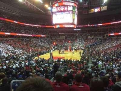 Capital One Arena secção 118
