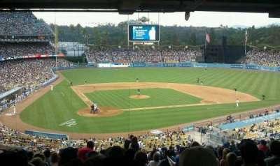 Dodger Stadium secção 114LG